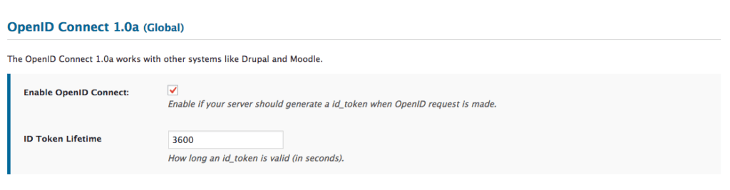 Enabling OpenID Connect - WP OAuth Server